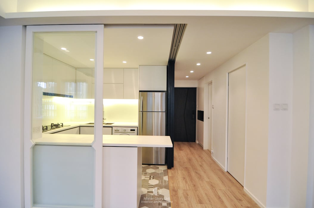 3:  Kitchen units by Mister Glory Ltd, Minimalist