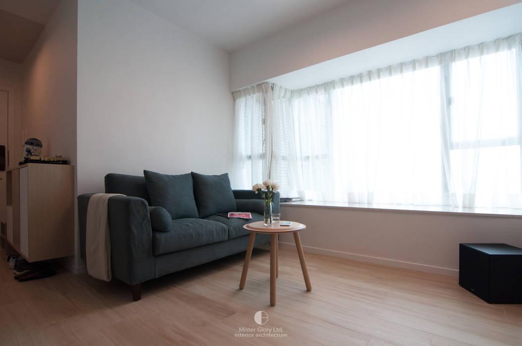 3 Minimalist living room by Mister Glory Ltd Minimalist