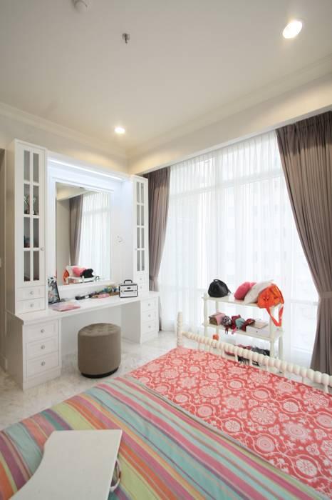 Kamar Tidur Anak Oleh Exxo interior Klasik Kayu Wood effect