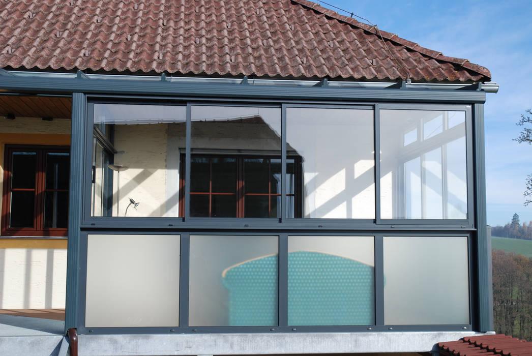 Turbo Wintergarten für einen balkon als windschutz: wintergarten von AZ71