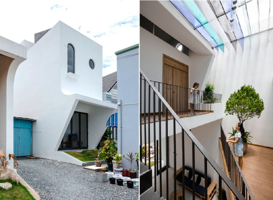 Single family home by Công ty TNHH Xây Dựng TM – DV Song Phát, Modern