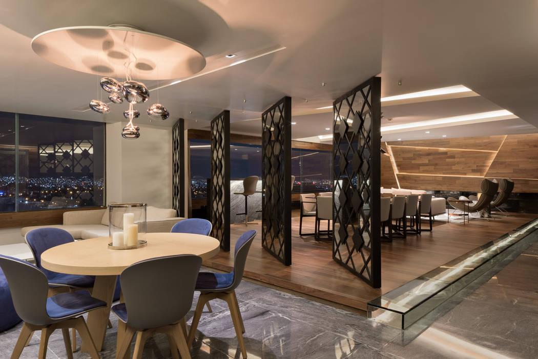 Remodelación Departamento Frondoso, CDMX. Art.chitecture, Taller de Arquitectura e Interiorismo 📍 Cancún, México. Comedores modernos