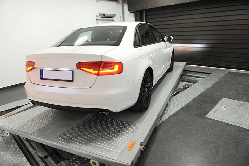 MasterVario R2C Alemania, Munich, Karlstrasse, 2014. Garajes de estilo moderno de KLAUS MULTIPARKING COLOMBIA Moderno