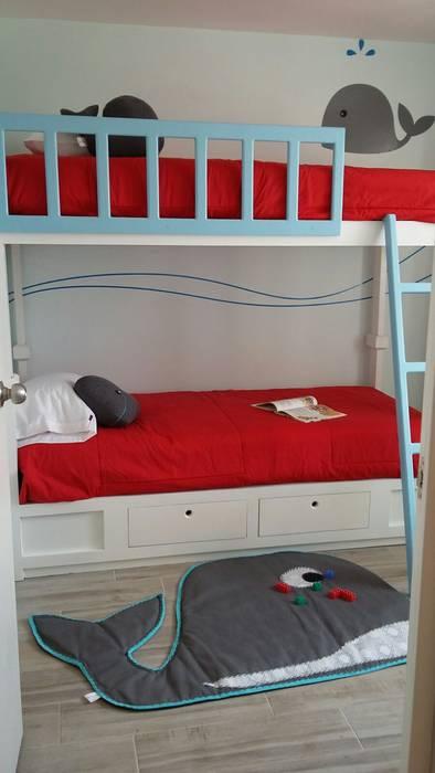 Habitación gemelos, twins beds loop-d Habitaciones de niños
