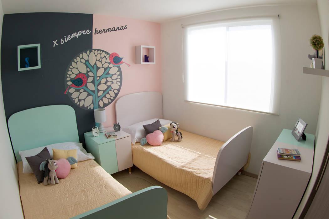 Habitación hermanas loop-d Habitaciones de niñas