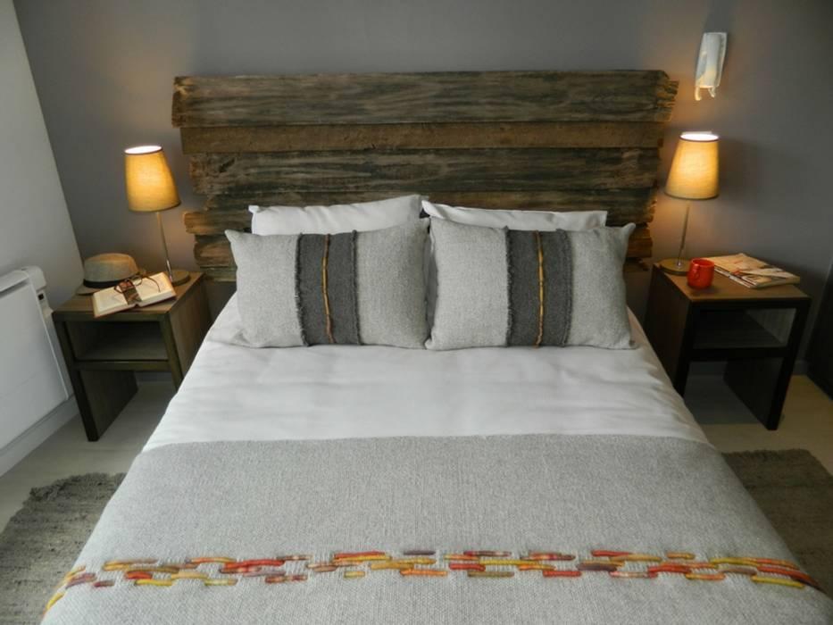 Dormitorio principal: Dormitorios de estilo  por DDO Diseño, Rústico Madera Acabado en madera