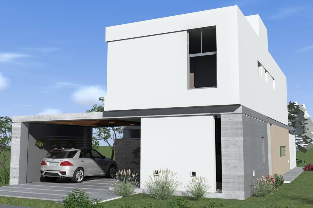 Modern home by Arquitectura Bur Zurita Modern