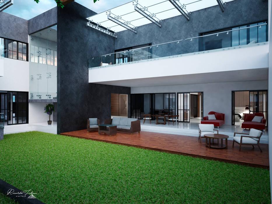 Fachada Interior de Grupo ARK Minimalista Hierro/Acero