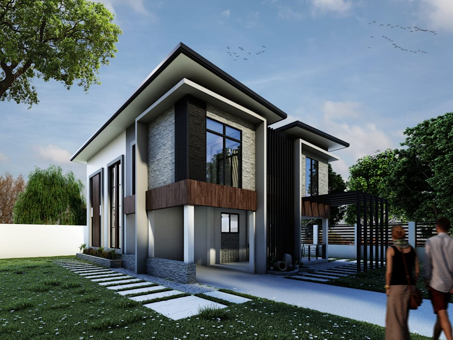 Proposed Two Storey Residential by DJD Visualization and Rendering Services Modern