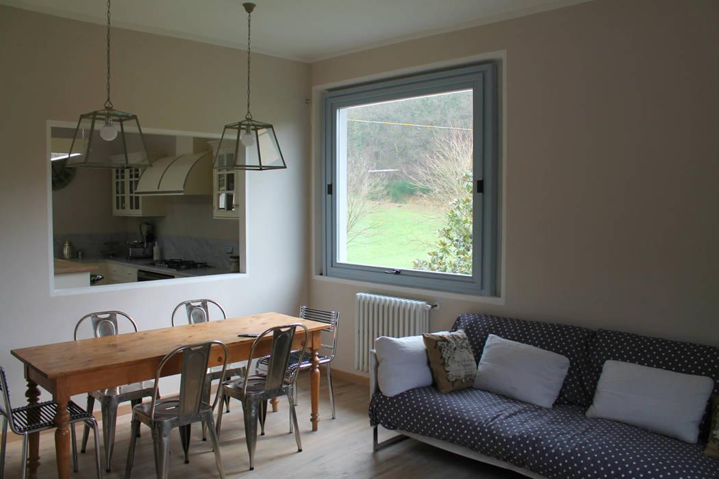 Ristrutturazione appartamento finestre in legno in stile di maurri palai architetti homify - Ristrutturazione finestre in legno ...