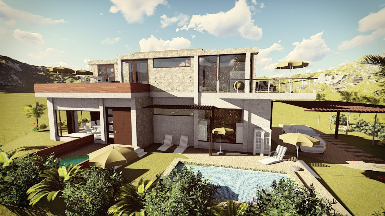 by Arquitectura su c Modern Concrete