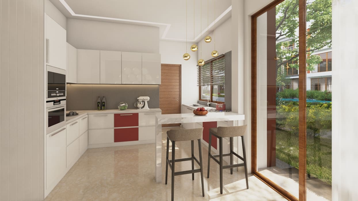 Modern Kitchen :  Kitchen by NVT Quality Build solution