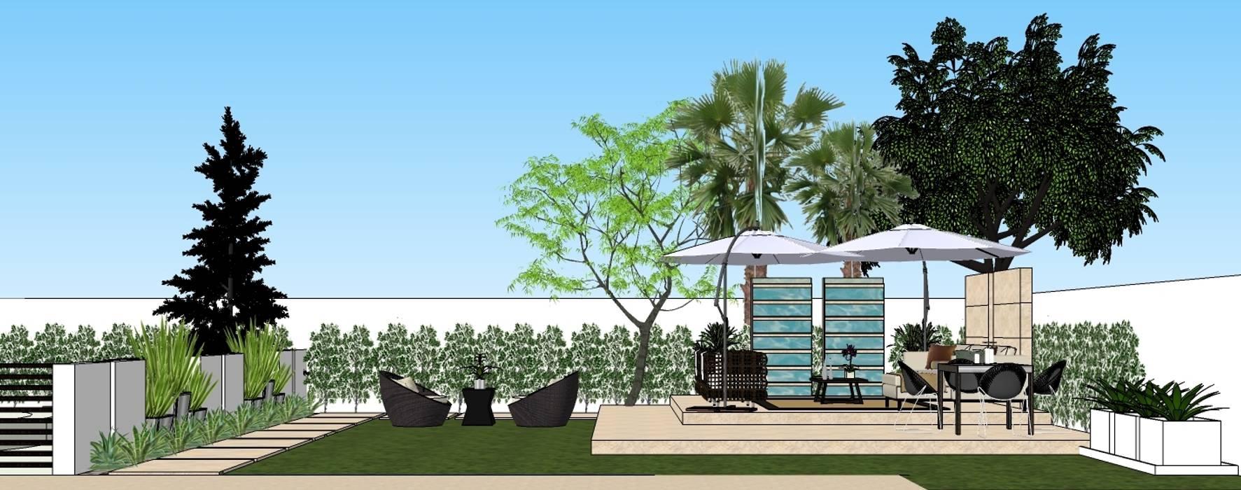 2013 PROJECTS:  Garden by MKC DESIGN, Modern