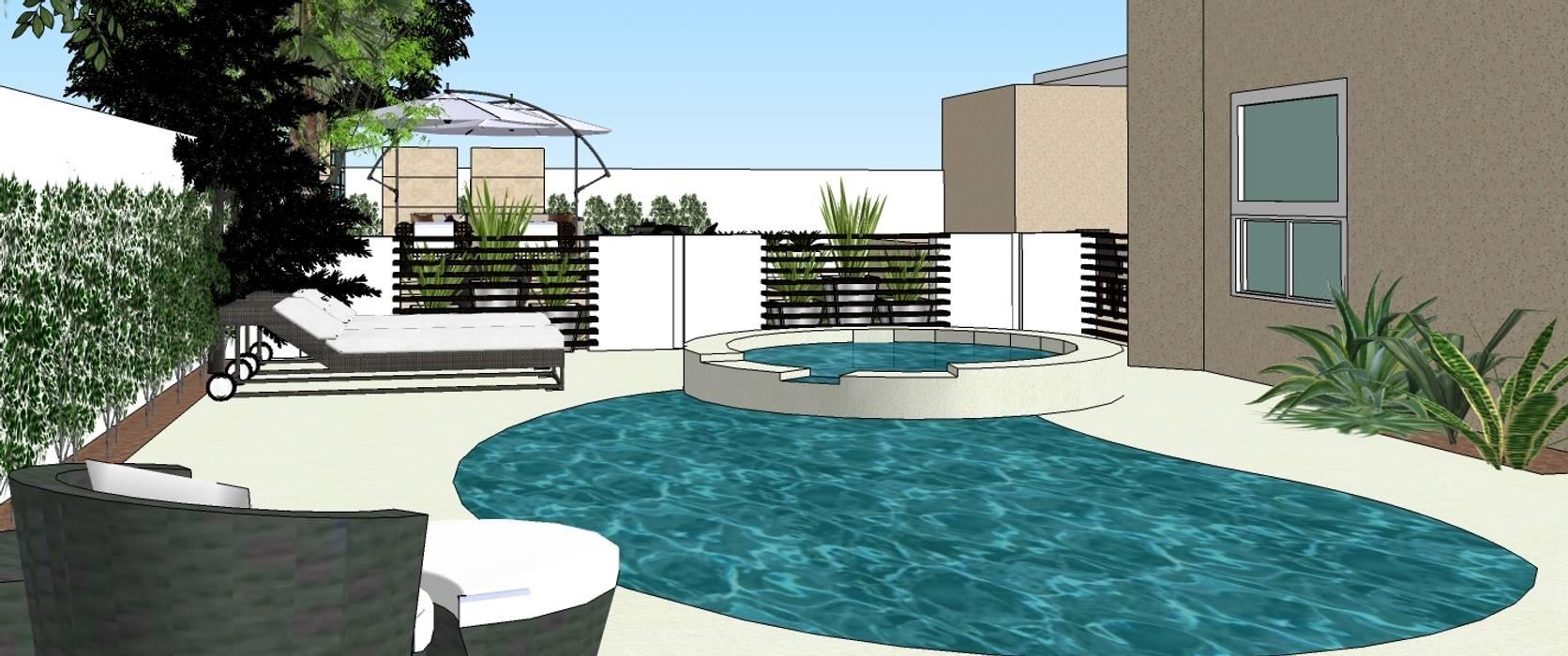 2013 PROJECTS MKC DESIGN Modern style gardens