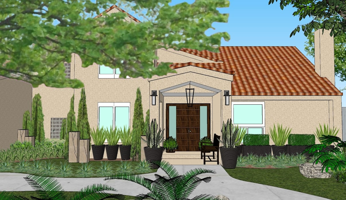 2013 PROJECTS MKC DESIGN Modern style gardens