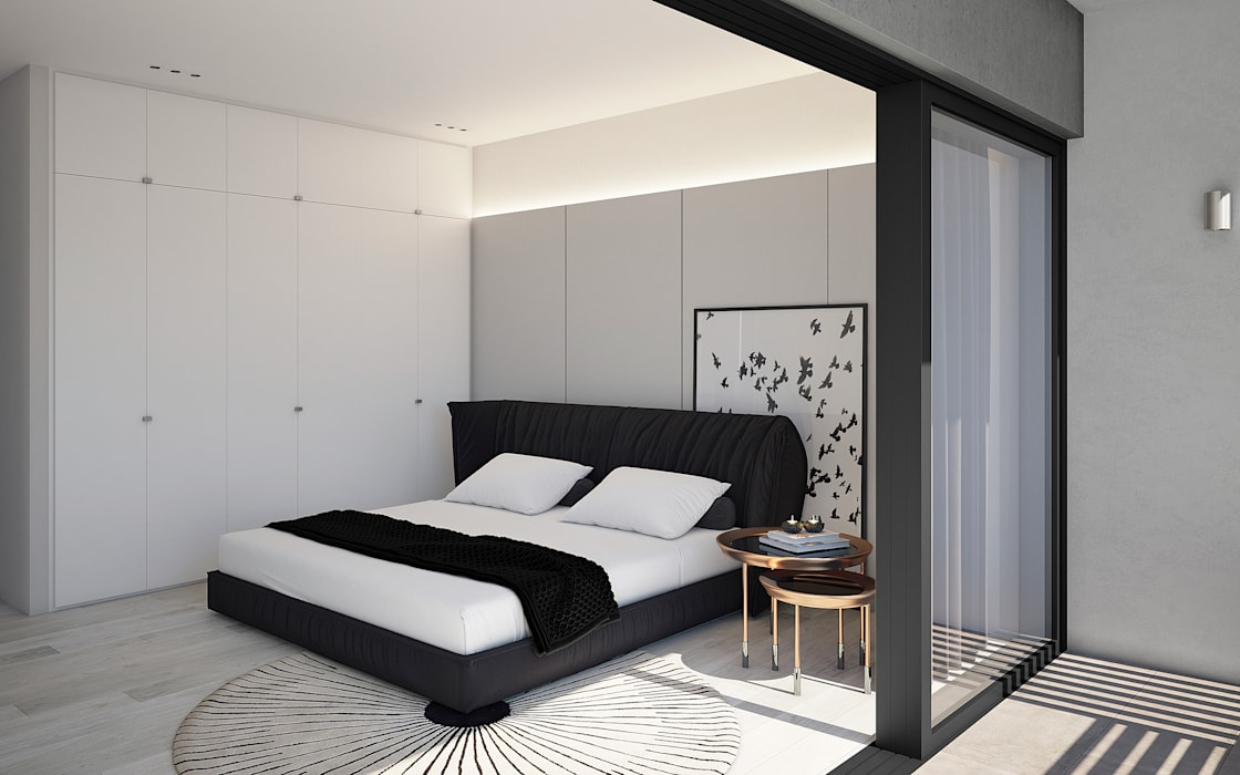The Arin Modern style bedroom by Cleo Architecture Studio Modern