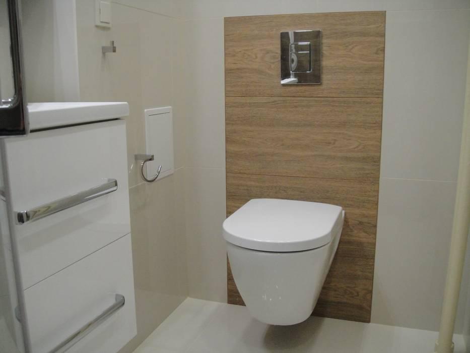 Remont łazienki Styl W Kategorii Zaprojektowany Przez Abc