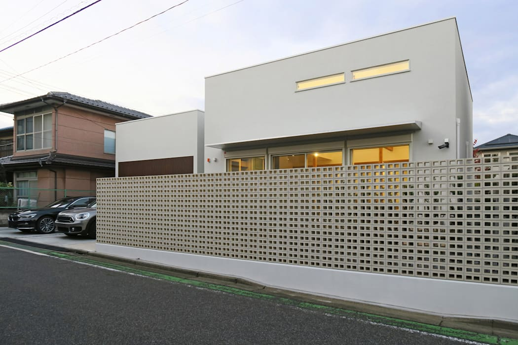 house F ミニマルな 家 の 田所裕樹建築設計事務所 ミニマル