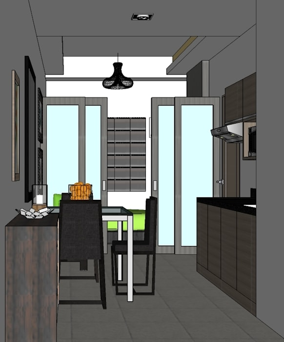 2015 PROJECTS Modern Dining Room By MKC DESIGN