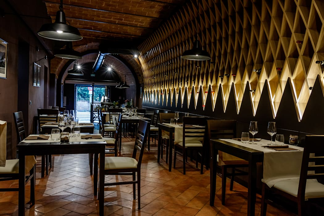 Ristorante Â«particolare di siena» – studio bennardi: sala da pranzo ...