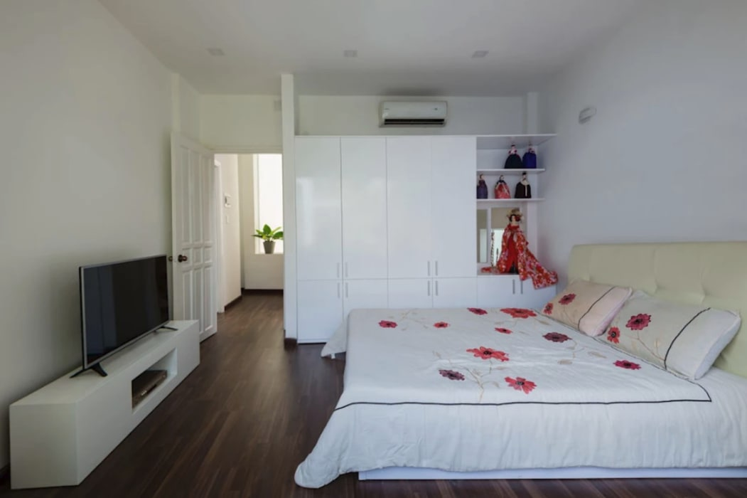 Không gian tầng 2 và 3: phòng ngủ và sân thượng:  Phòng ngủ by Công ty TNHH Xây Dựng TM – DV Song Phát