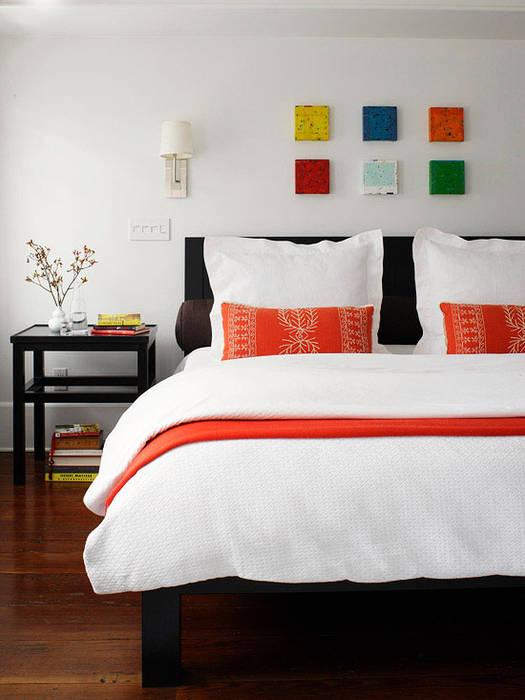 Không gian tầng 2 và 3: phòng ngủ và sân thượng Phòng ngủ phong cách hiện đại bởi Công ty TNHH Xây Dựng TM – DV Song Phát Hiện đại