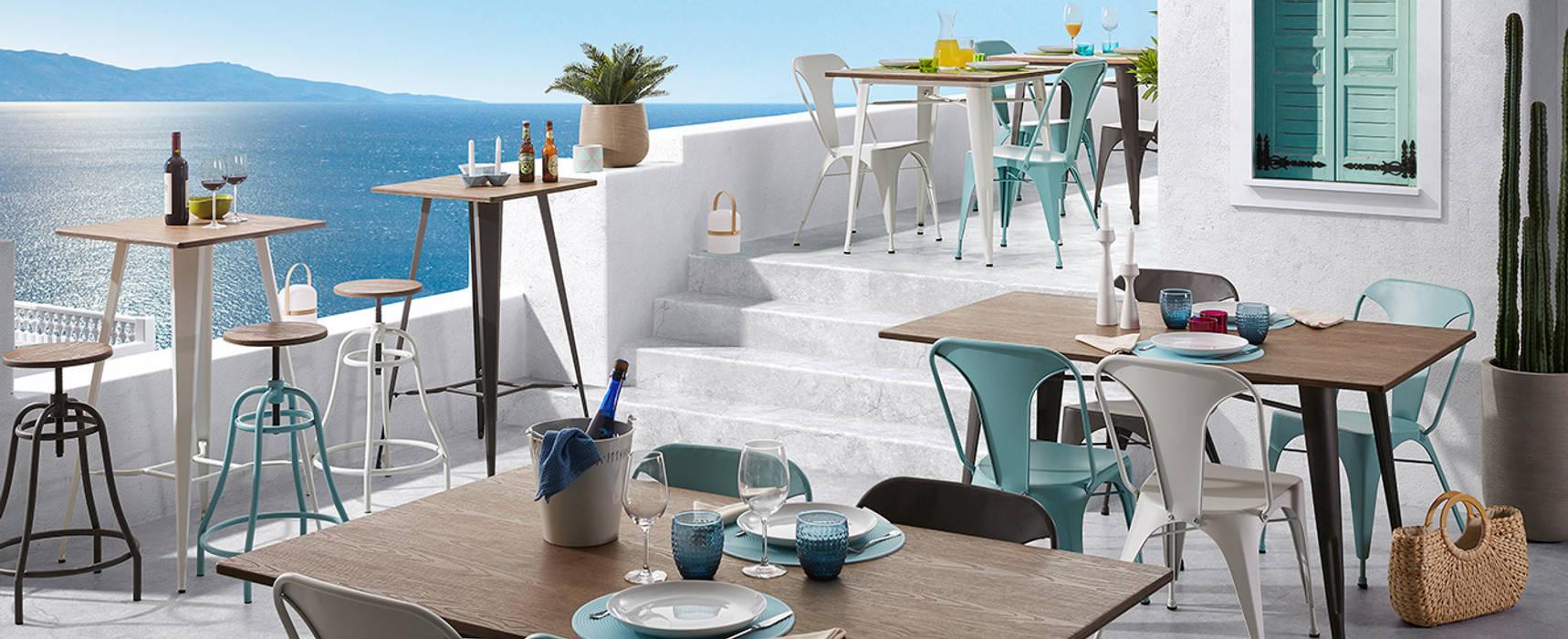 Modern balcony, veranda & terrace by Muebles Flores Torreblanca Modern