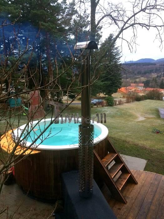 Bain suédois en fibre de verre modèle terrasse par timberin ...