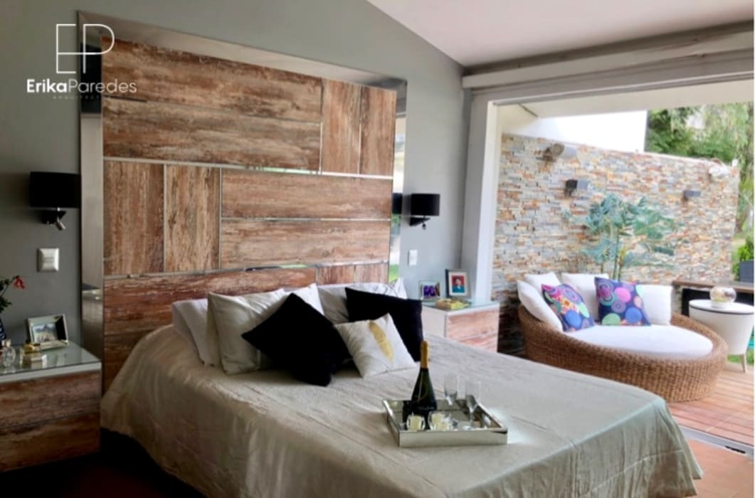 Dormitorio Principal: Dormitorios de estilo  por EPG  Studio