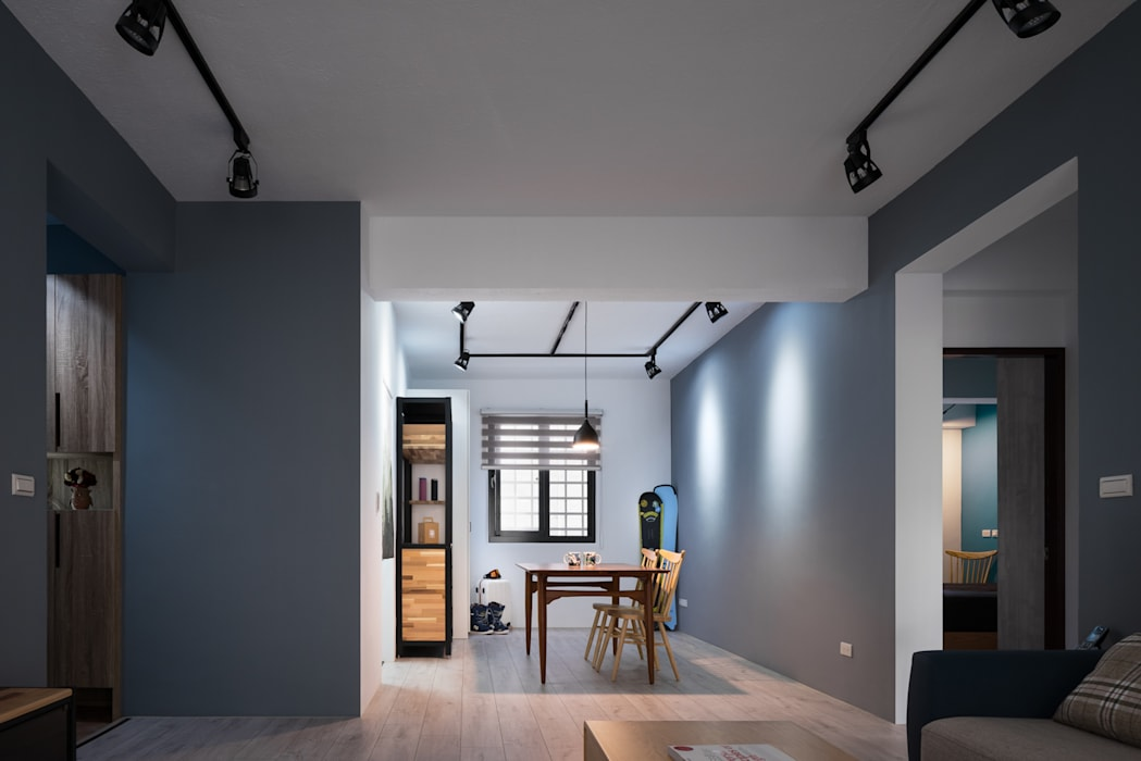 Kitchen by 築室室內設計, Minimalist