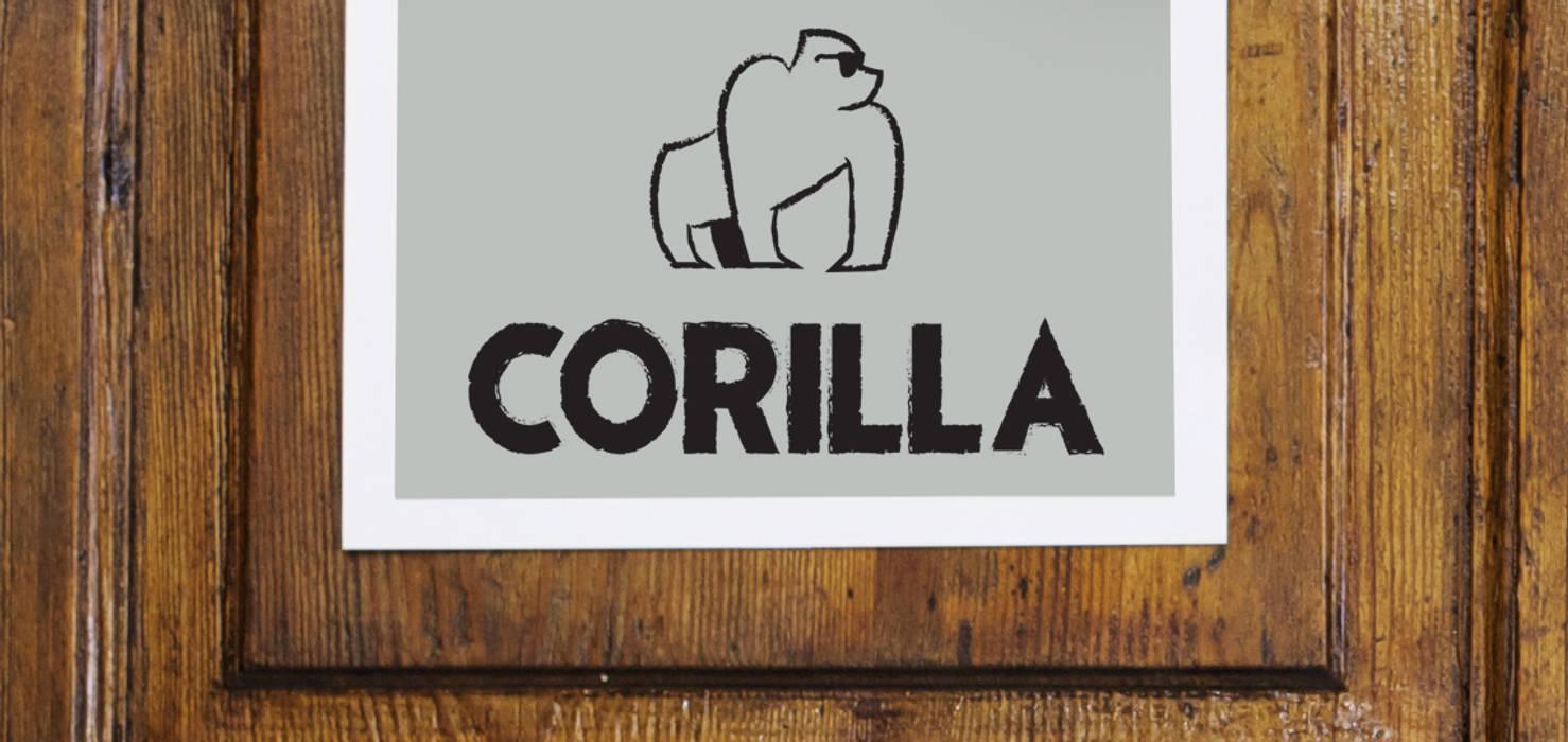Il logo è l'idea creativa : Complessi per uffici in stile  di Rifò