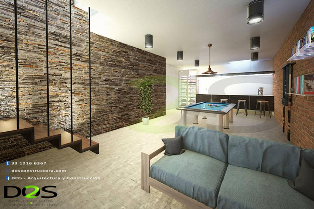 Moderne Garagen & Schuppen von DOS Arquitectura y construcción Modern