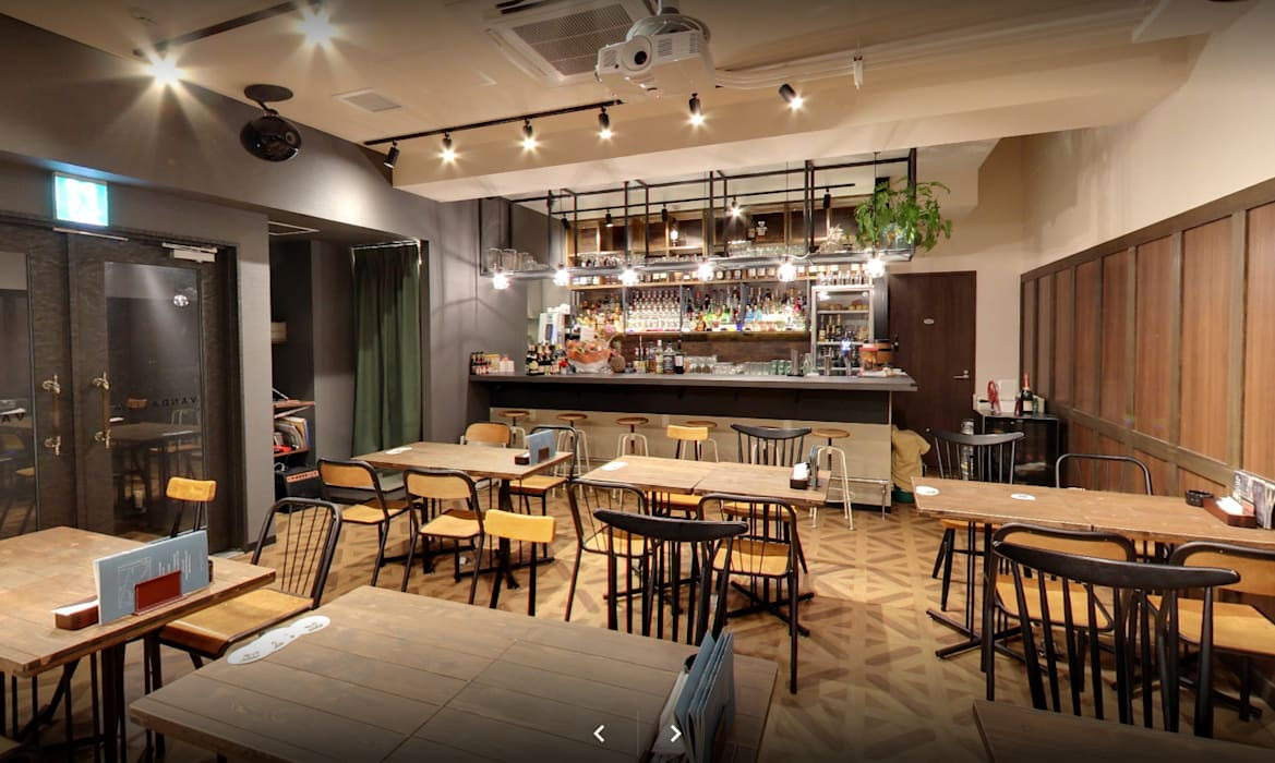 Tokyo Cafe Interior Design Industrial Style Dining Room By Yunhee Choe Industrial Homify