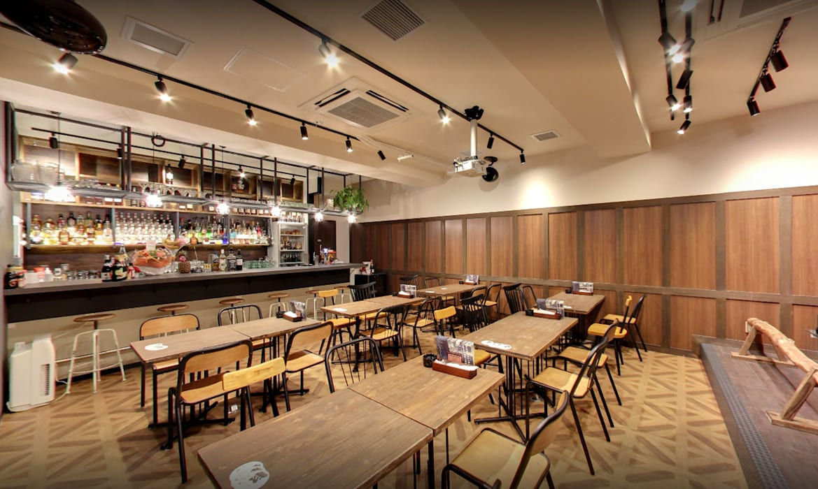 Ruang Makan Gaya Industrial Oleh Yunhee Choe Industrial