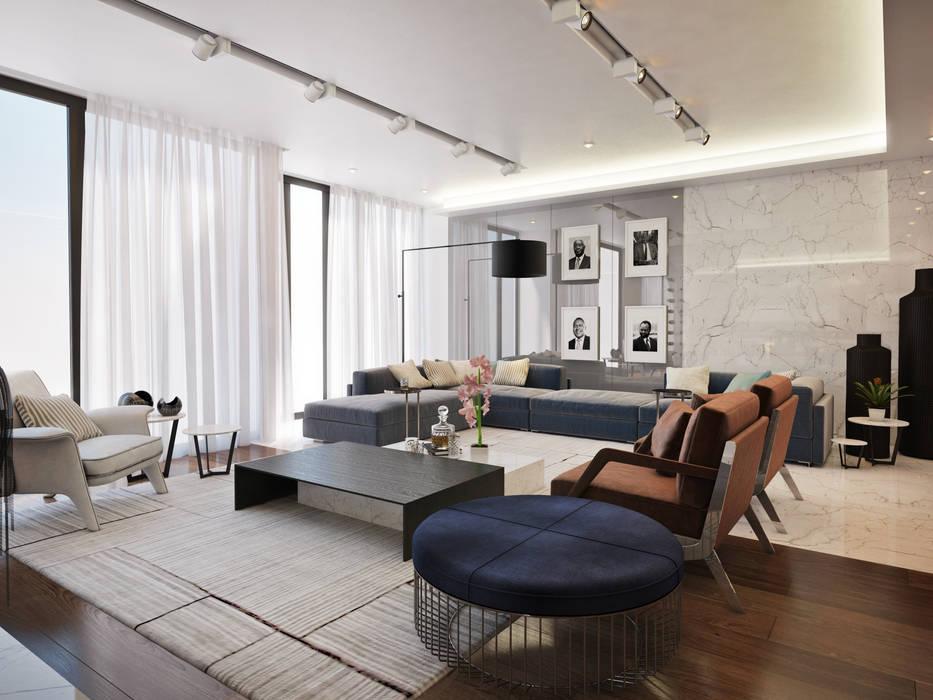 Cocinas de estilo  de Dessiner Interior Architectural, Moderno