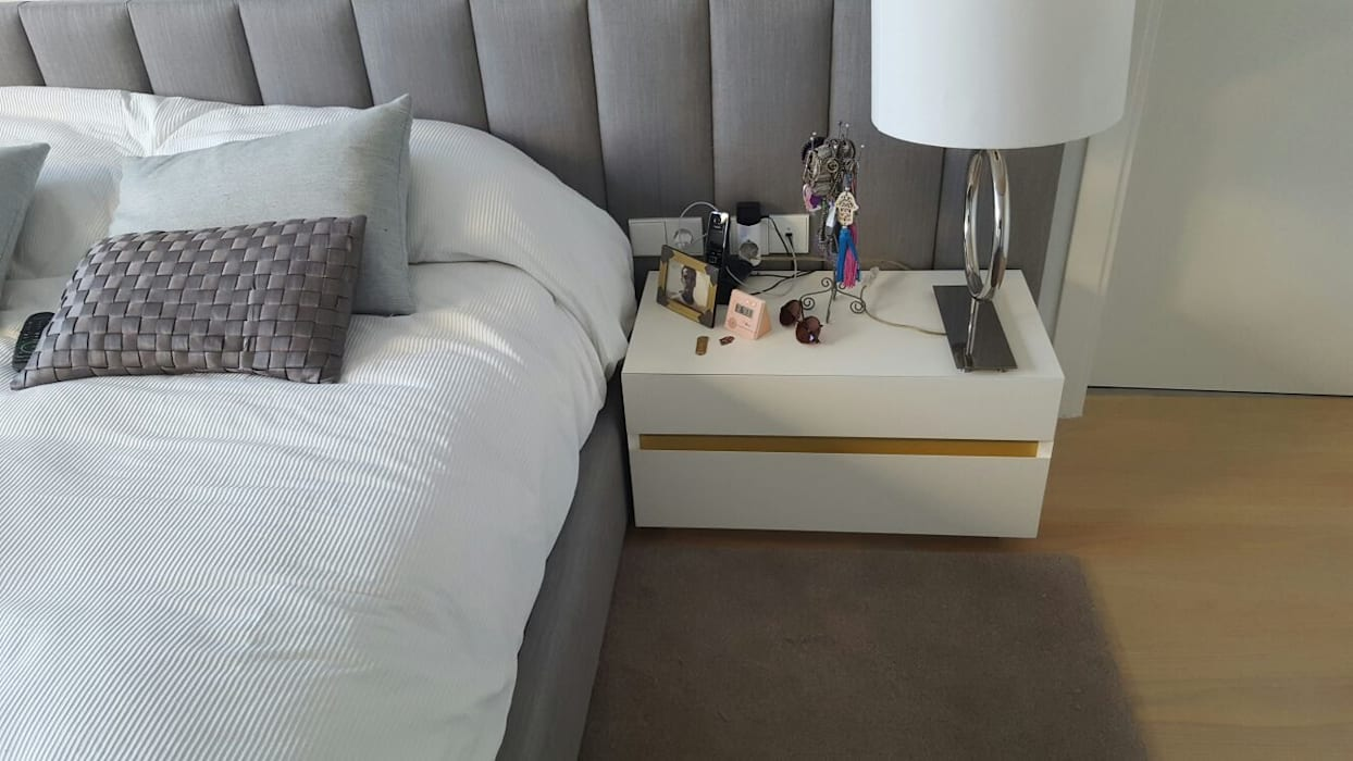 CARE MOBILIARIO MADRID,S.L. BedroomBedside tables MDF Multicolored