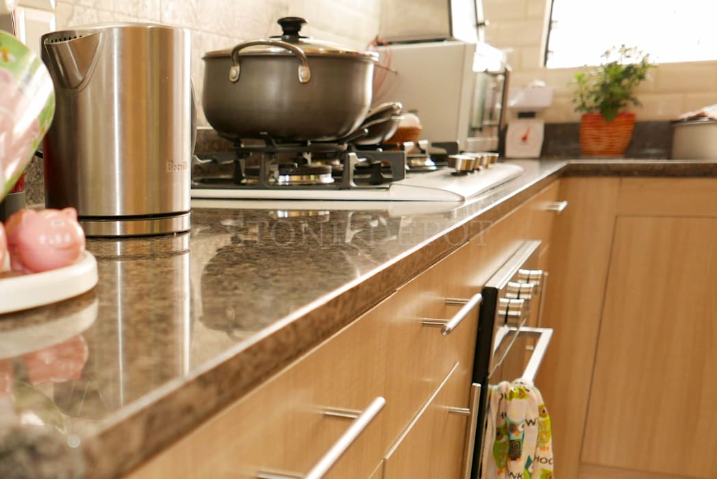 Marigold Granite Kitchen Countertop in Talamban, Cebu City by Stone Depot Classic