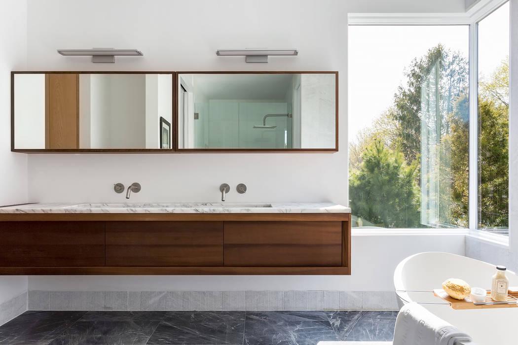 Arredamento Stile Mediterraneo : Seaview bathroom bagno in stile in stile mediterraneo di gd