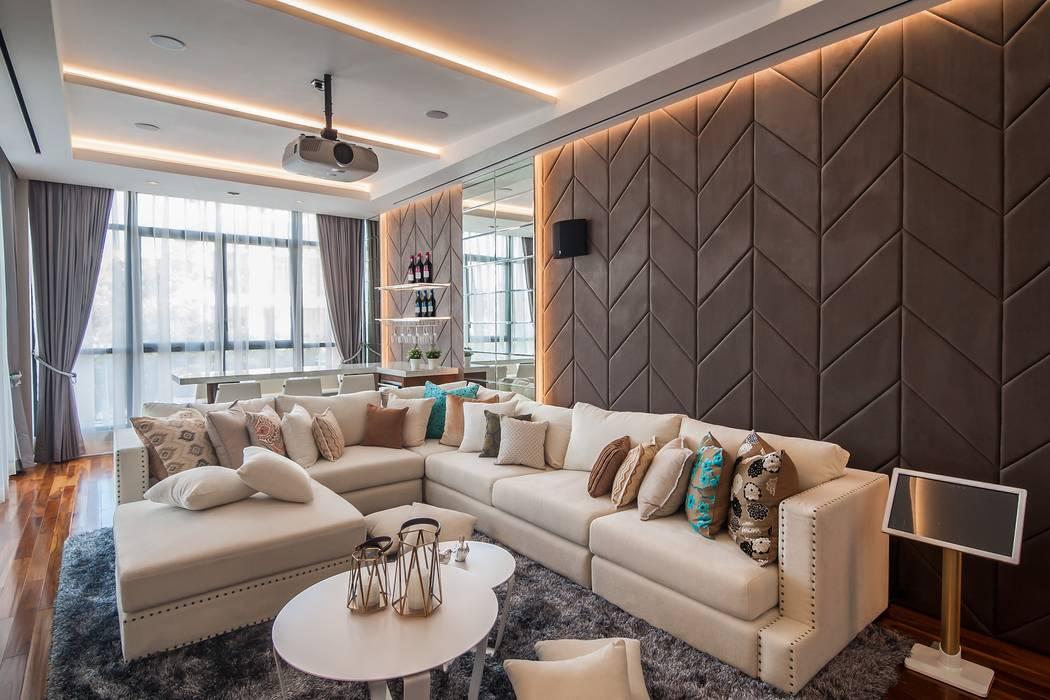 PT. Dekorasi Hunian Indonesia (DHI) Modern media room