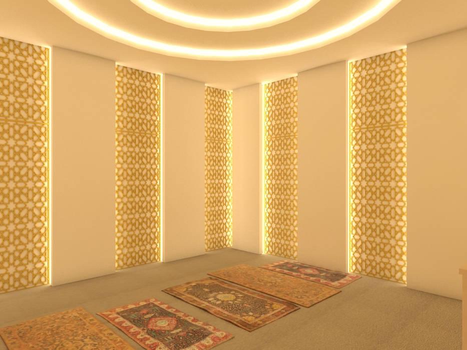 Edifícios comerciais modernos por PT. Dekorasi Hunian Indonesia (DHI) Moderno