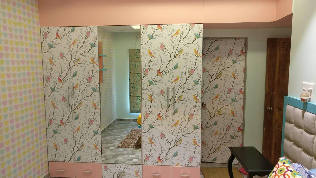 Girls Bedroom by Umbrella Tree Designs