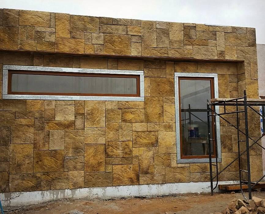 od Territorio Arquitectura y Construccion - La Serena Nowoczesny Kamień
