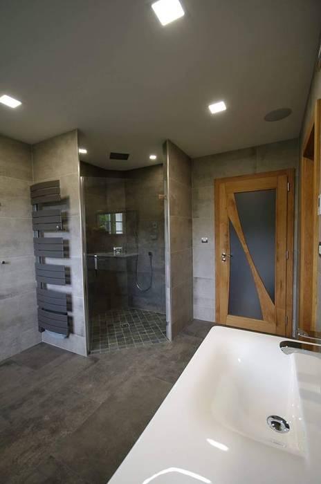 Douche italienne angle: salle de bains de style par rg intérieur ...
