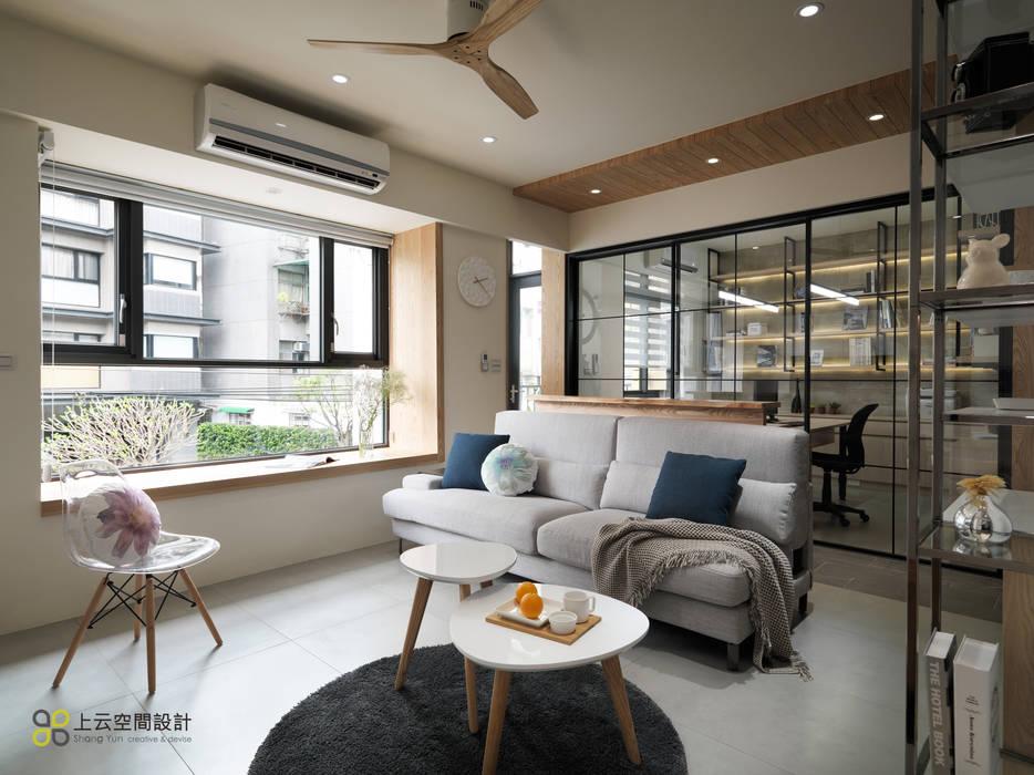 Living room by 上云空間設計, Modern