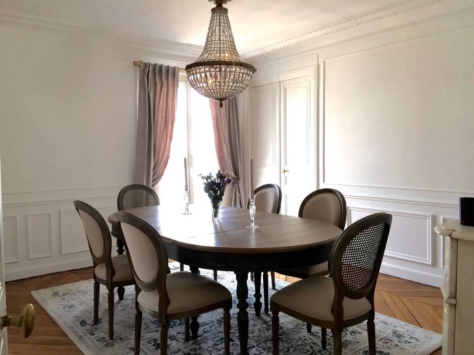 Parisian Chic Haussmannian Apartment By Lichelle Silvestry Salle A