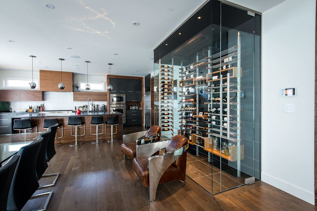 by Millesime Wine Racks Modern Aluminium/Zinc