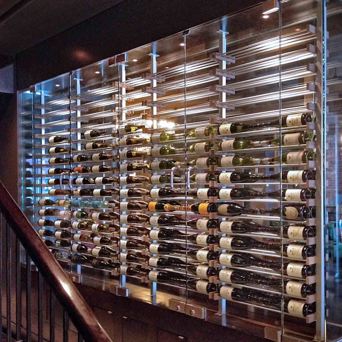 Millesime Wine Racks 餐廳 木頭 Metallic/Silver