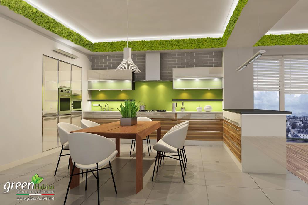 Кухни в . автор u2013 green habitat s.r.l. homify
