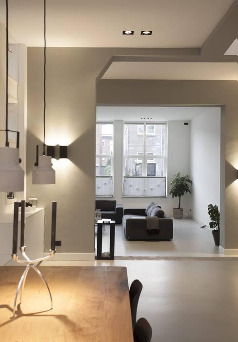 Thijssen Verheijden Architecture & Management Modern Dining Room Grey