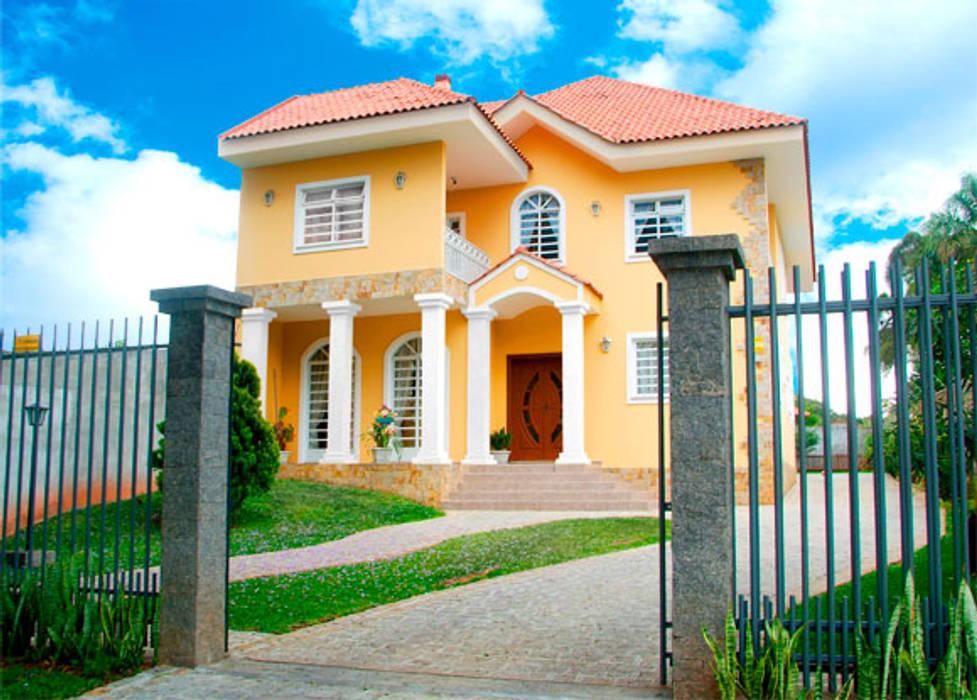 Residência Unifamiliar  de reporter Global. : Casas familiares  por Grupo DH arquitetura